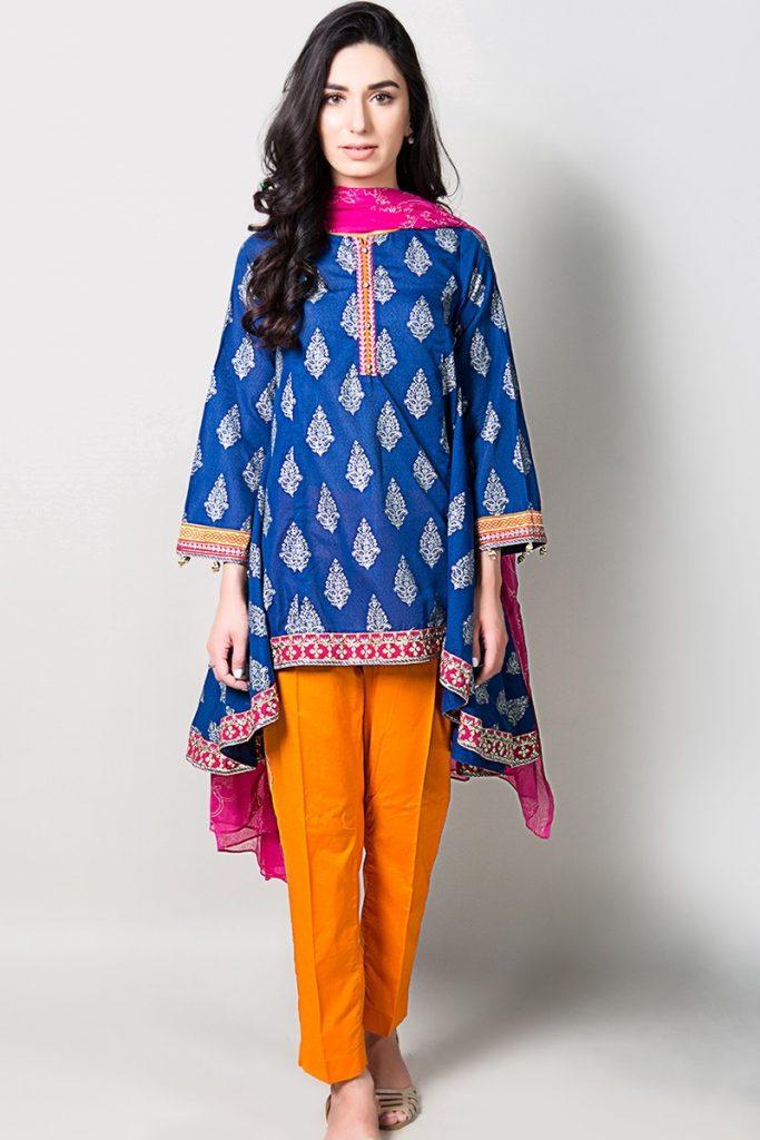 blue suit for eid 2017