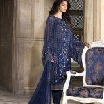 breeze blue charming dress for eid 2017