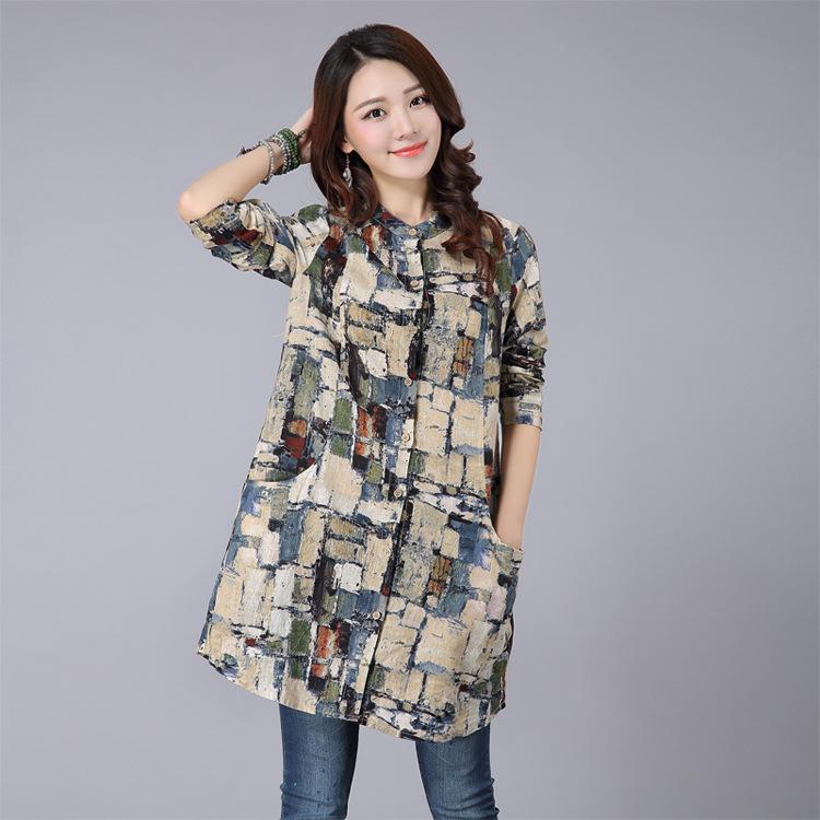 Long Shirt Dresses 2018 Fashion Amp Long Front Open Double