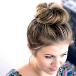 heavy top knot hairstyle 2017