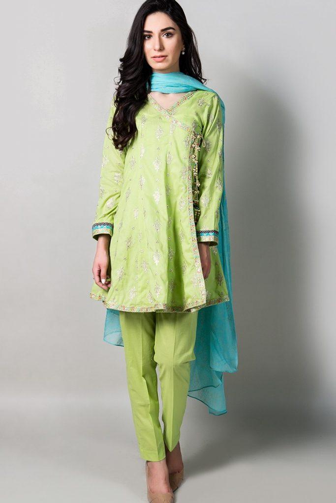 latest eid dress 2017 by maria b