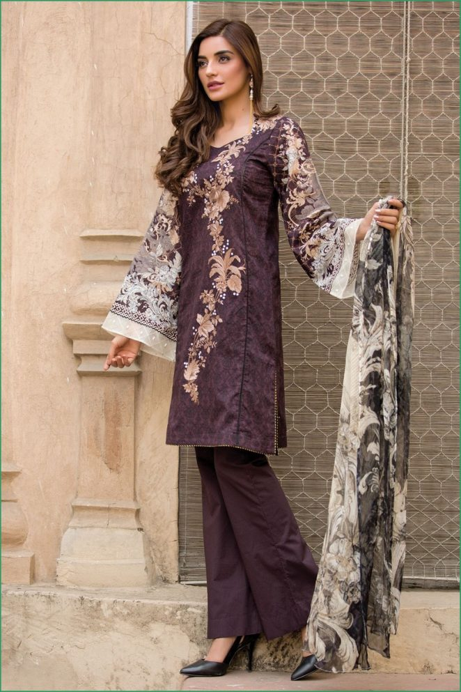 97534d6818 Pakistani Eid Dresses 2018 for Girls - Best Festive Collection by ...