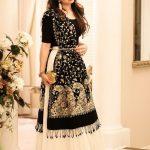 Adorable Pakisatni Waist belt dress for girls 2017