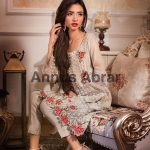 Annus abrar formal party wear dresses for girls 2017