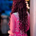 Curly Hairstyle for Eid 2017