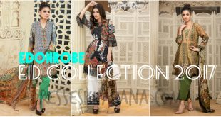 Edenrobe Eid Dresses 2017 - Luxury Festive Lawn Collection for Girls