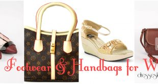 Latest Eid Footwear & Handbags Collection for Women 2017 Fashion