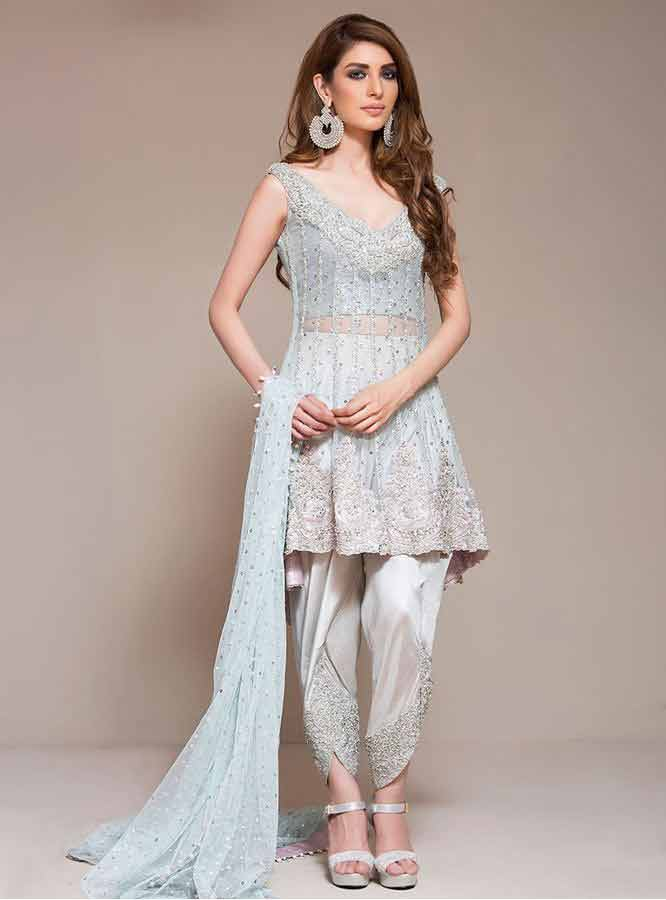 Gorgeous Party Dresses for Girls 2017 in Pakistan