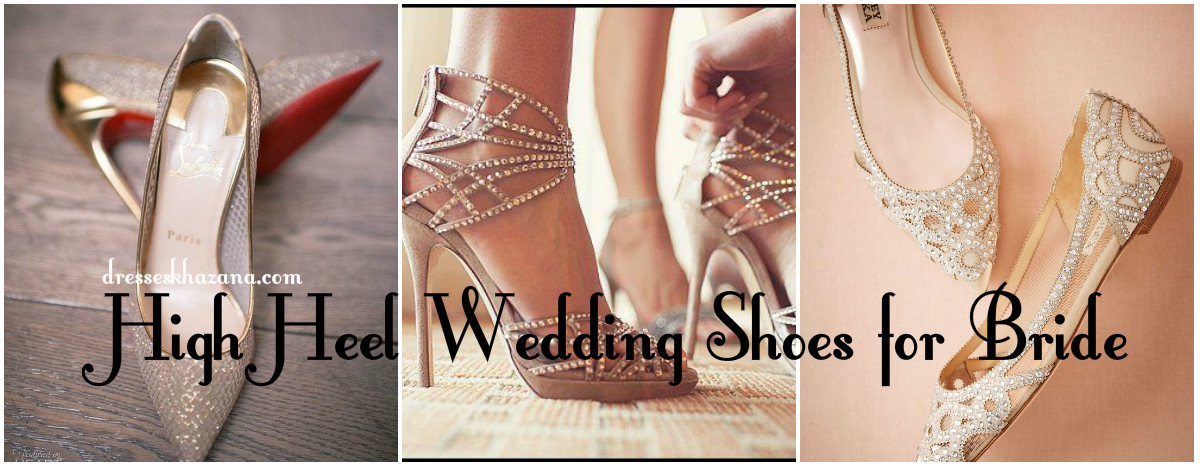 6a244021d5aaee Pakistani Bridal High Heel Shoes 2017 Wedding Sandals for Bride
