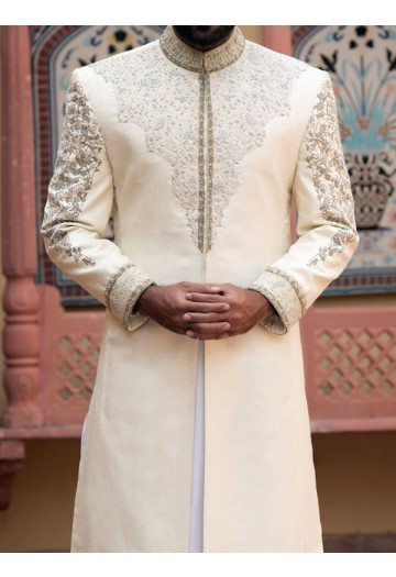 JJ Beautiful Sherwani Designs 2017 for Groom 58k