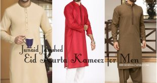 Eid Kurta Salwar Kameez for Men 2017 Designs by Junaid Jamshed