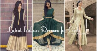 Latest Indian Dresses 2017 for Girls