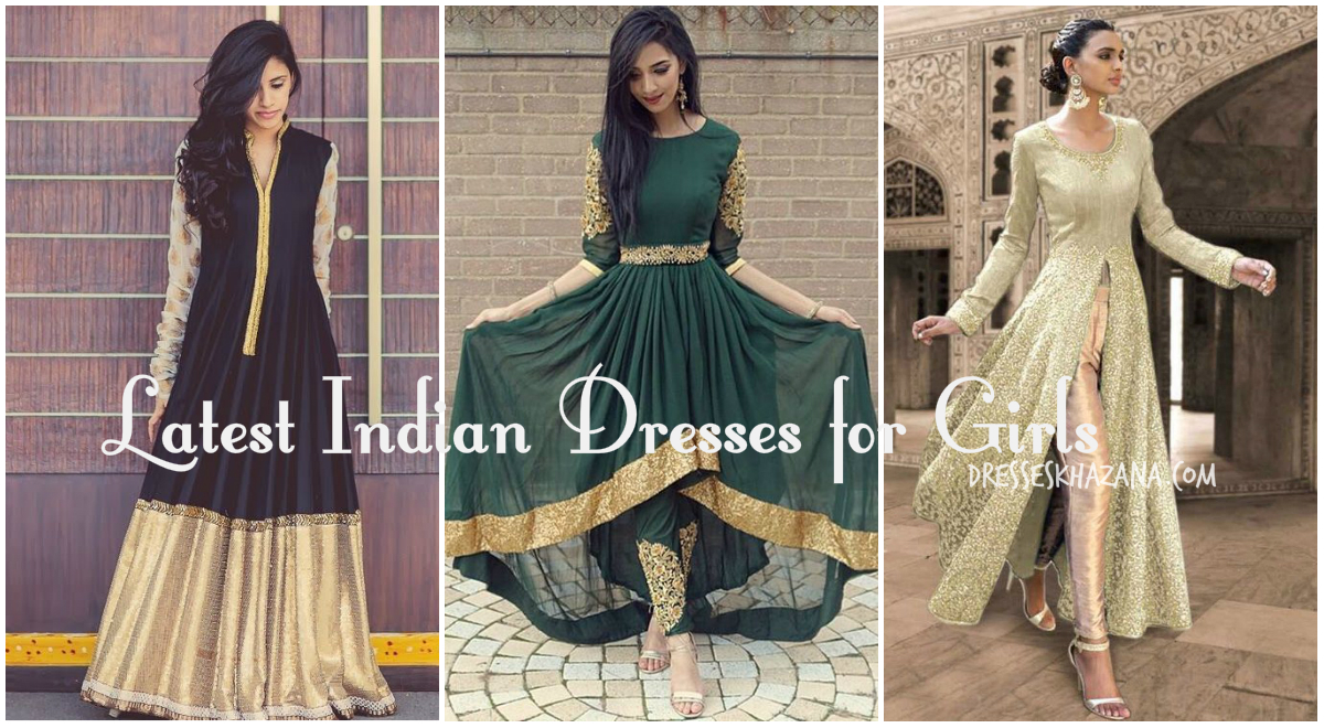 b2dd21ccd9 Indian Dresses 2018 – Latest Indian Party & Formal Dresses for Girls