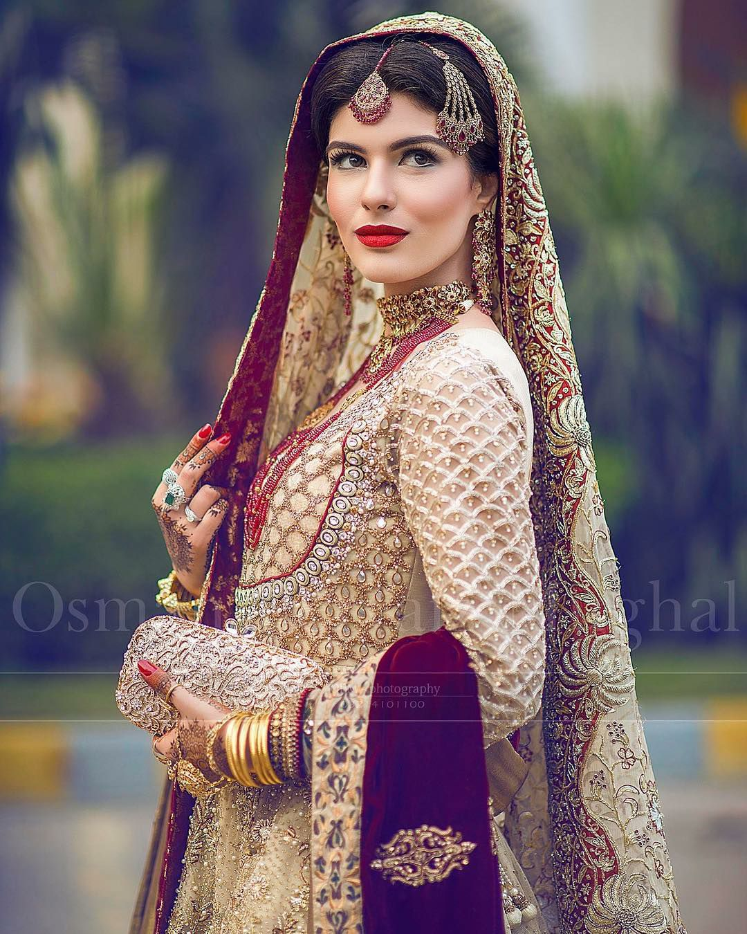Pakistani Bridal Dresses 2017 Latest Mehndi Barat