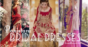Latest Pakistani Bridal Dresses 2017 for Wedding
