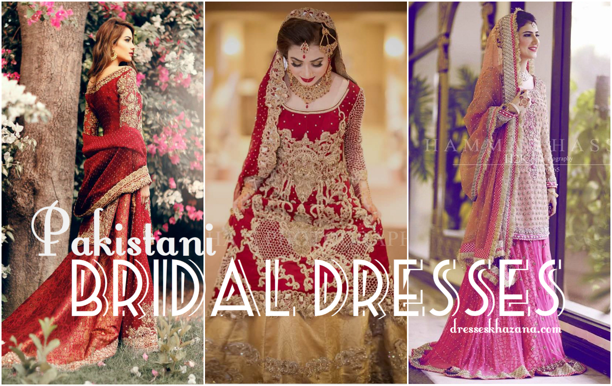 8cc6cf224 Pakistani Bridal Dresses 2018 - Latest Mehndi, Barat & Walima Dresses