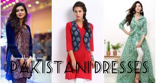 Latest Pakistani Dresses 2017 for Women