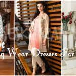 Latest Pakistani Evening Wear Dresses 2017 Fashion for Girls