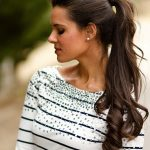 Long Wavy Ponytails Hairstyle for Girls