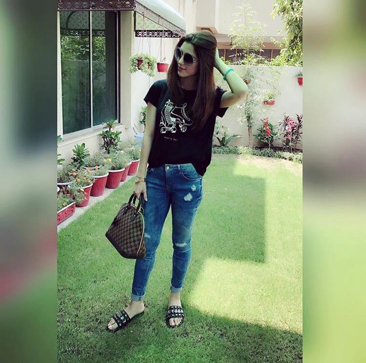 Maya Ali on Eid