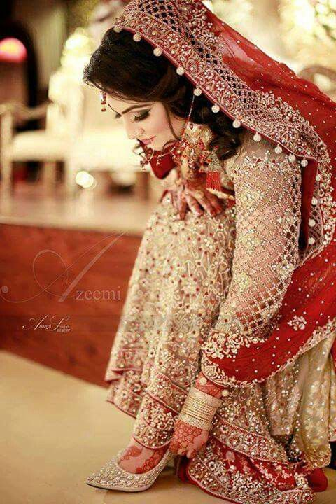 Pakistani bridal dresses pics facebook discount wedding for Cheap pakistani wedding dresses