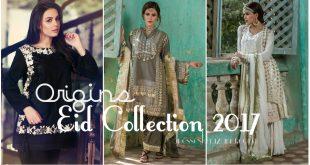 Origins Eid Collection 2017 - Latest Festive Eid Dresses Ready to Wear