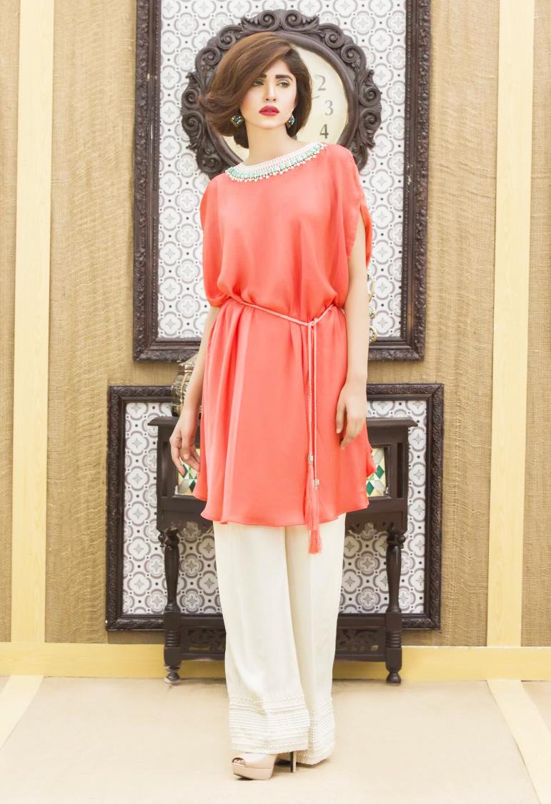 b5e8763c7c17 Pakistani Waist Belt Dresses Designs for Women Formal Wear 2018