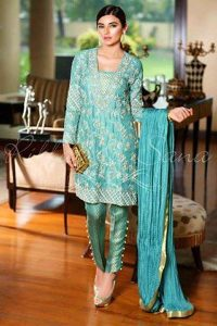 Pakistani Formal Dresses for girls 2017