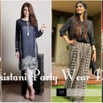 Pakistani Party Wear Dresses for Women 2017