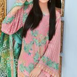 SILK NET EMBROIDERED for ladies