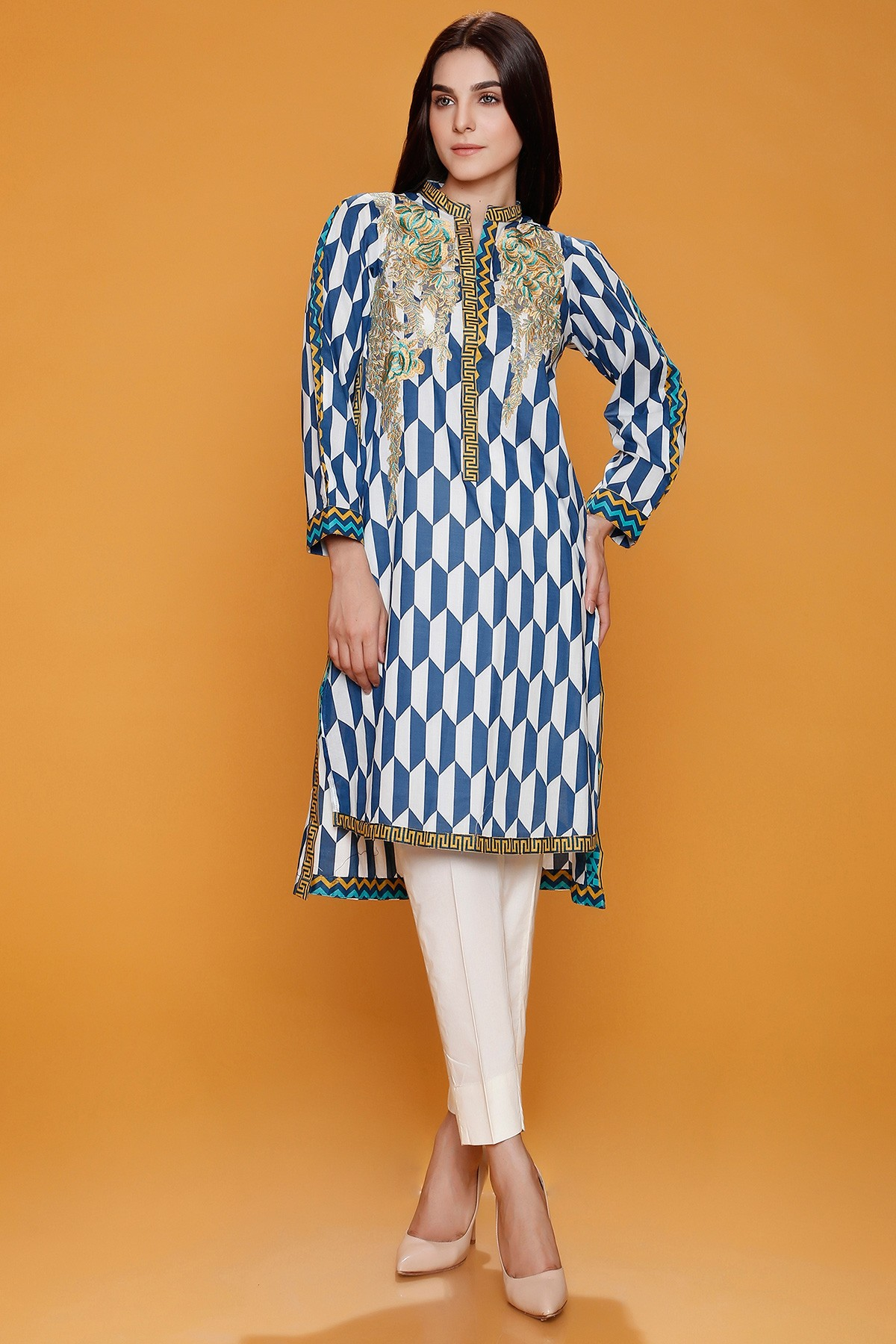 Stylish EMBROIDERED KURTA