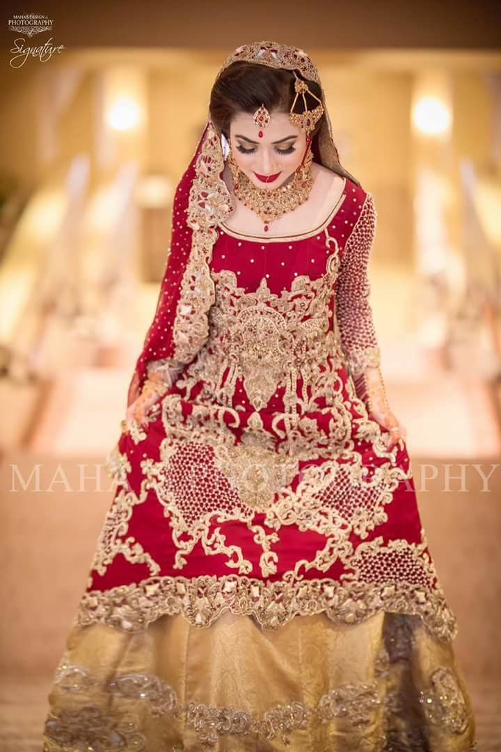 beautiful design of bridal dress collection 2017