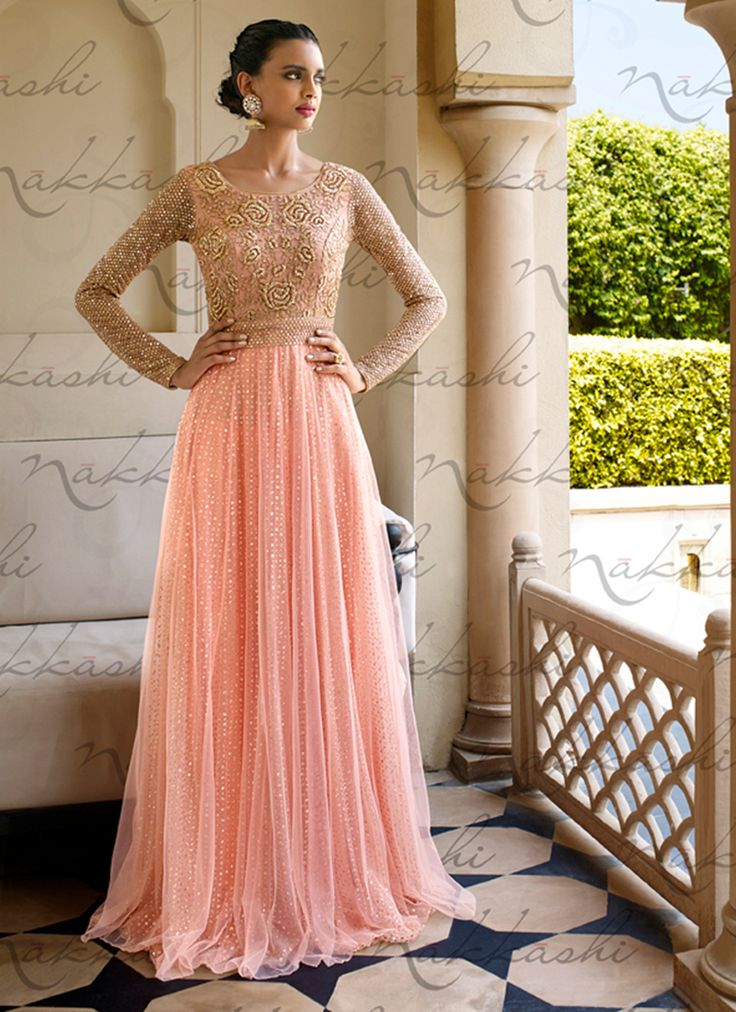 Indian Dresses 2018 - Latest Indian Party  Formal Dresses -5104