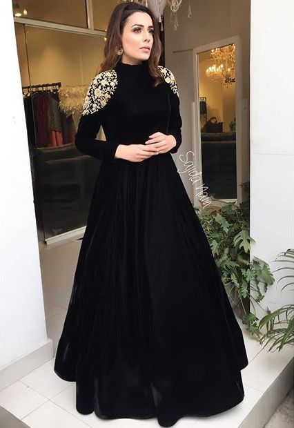 95b1b4cd68 black dashing suit for women 2017 · black suit for party dress 2017 for  Women · Designer Party Dresses for Pakistani Actresses