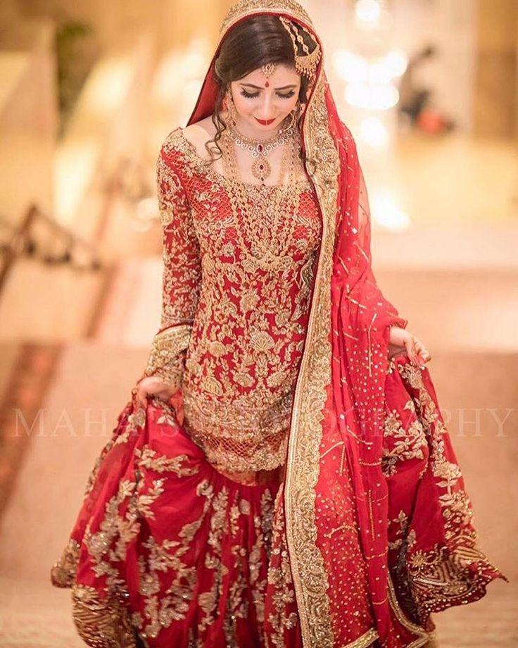 Pakistani bridal dresses 2017 latest mehndi barat for Pakistani wedding mehndi dresses