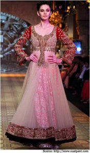bridal wedding dresses by manish malhotra