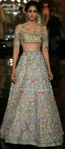 bride lehenga collection 2017 by Manish