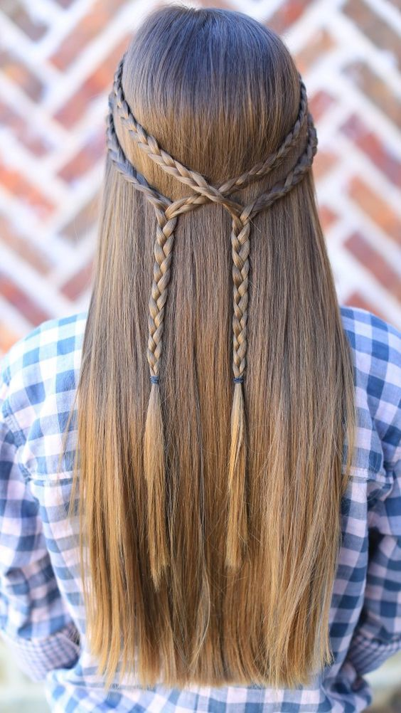 Best Eid Hairstyles For Girls 2018 Girls Special Hairstyles For