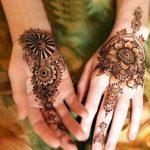 front back handed mehndi designs 2017 for eid