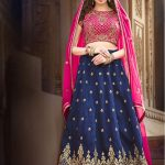 indian wedding lehenga choli for bride 2017