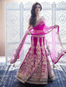 latest bridal outfit collection 2017 by Manish Malhotra