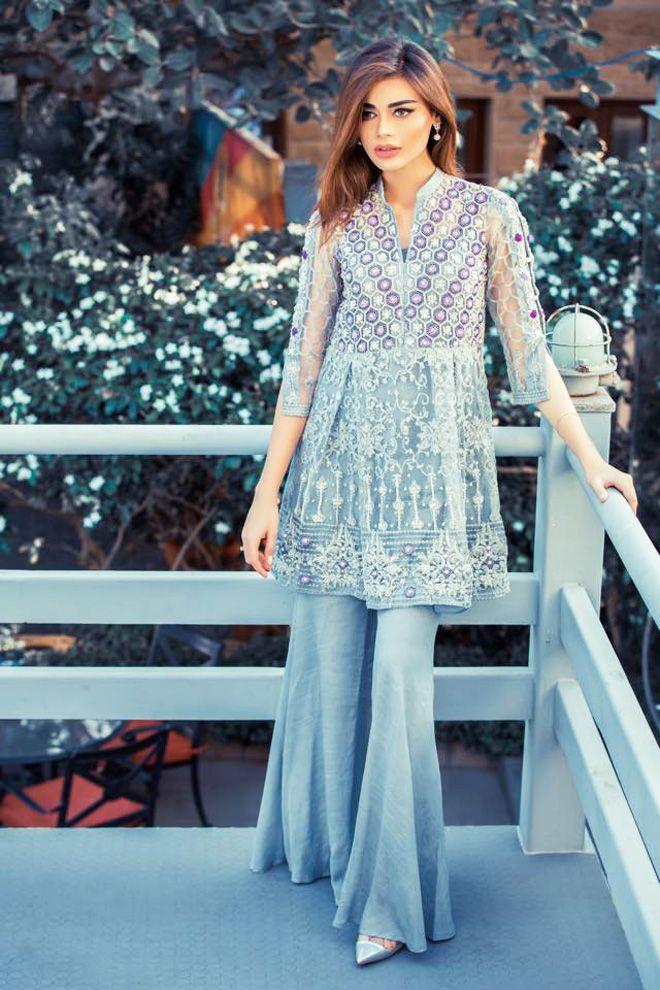 eba3f6490 Fancy Party Wear Dresses for Women 2018 Formal Pakistani Dresses