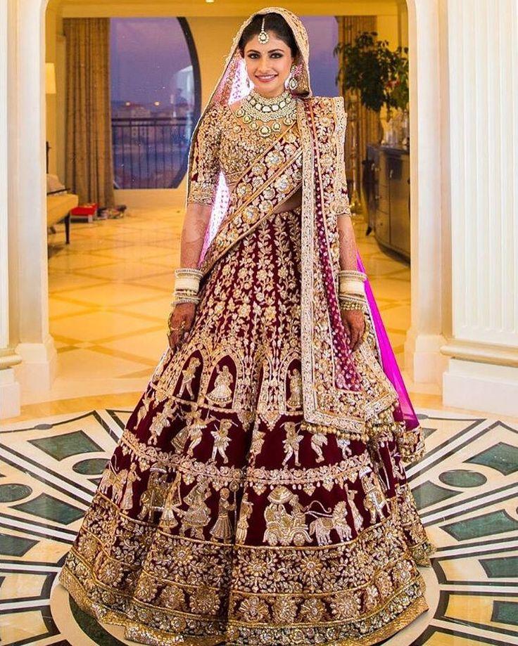 Indian Bridal Dresses 2017 - Bridal Wedding Lehengas & Gown