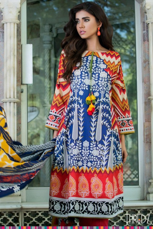 multicolor eid dress 2017 for girls
