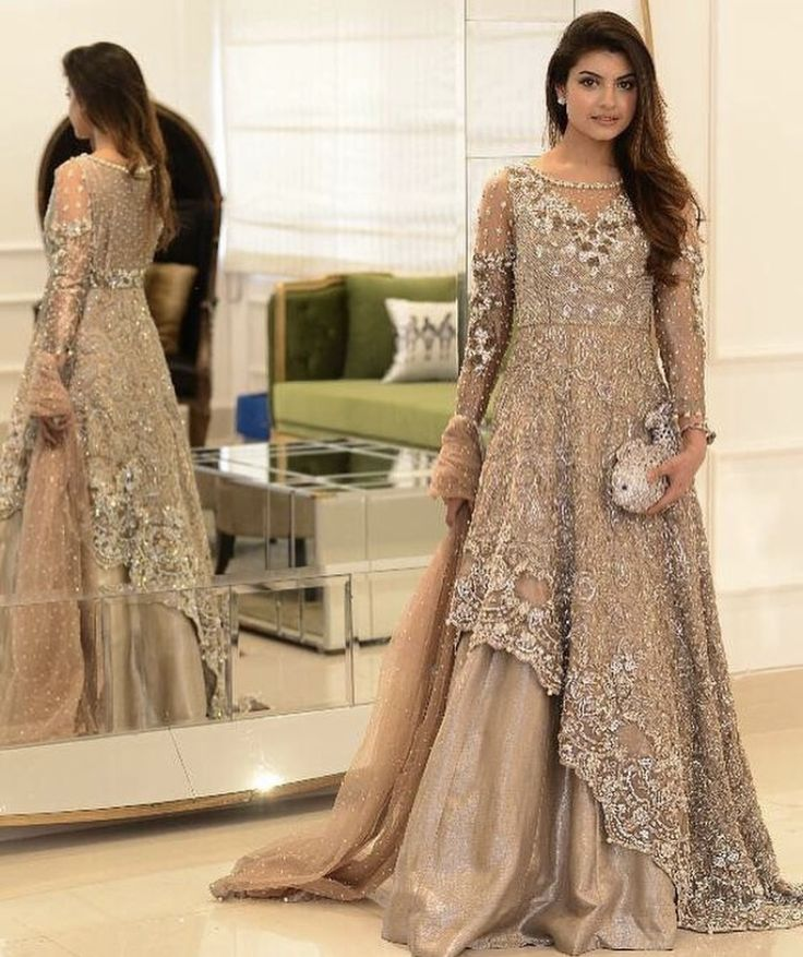 Fancy Party Wear Dresses For Women 2018 Formal Pakistani