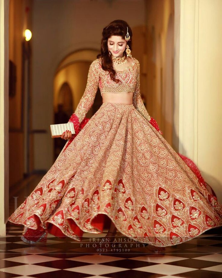 Pakistani bridal dresses 2018 latest mehndi barat Pakistani fashion designers