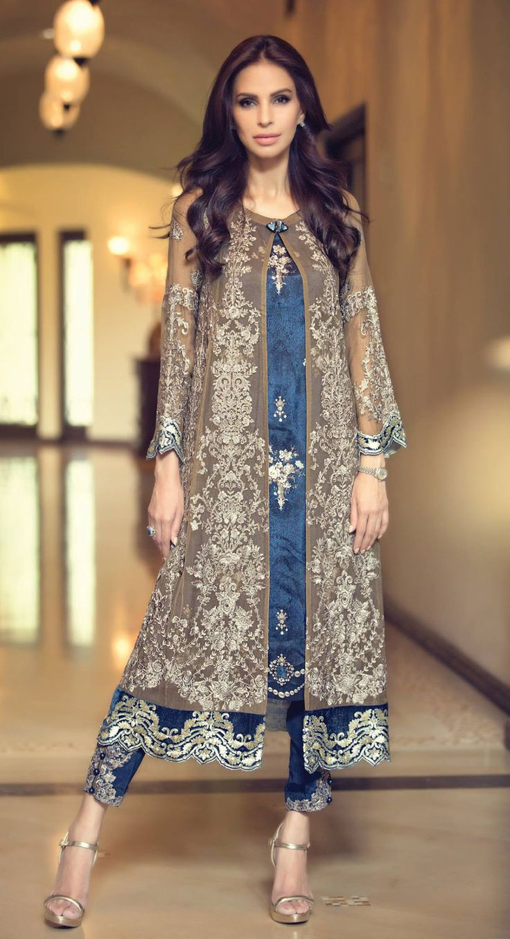 Fancy Party Wear Dresses For Women 2018 Formal Pakistani Dresses