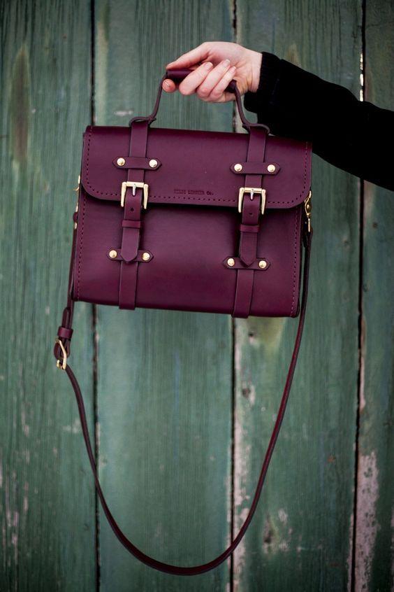 pure leather handbag for women 2017