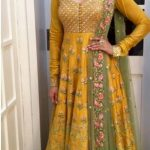 stylish anarkali frock designs 2017