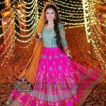 stylish lehnga dress for girls 2017